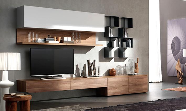 Salotto e soggiorno in stile classico e moderno